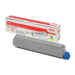 OKI 43487709 (Yield: 6,000 Pages) Yellow Toner Cartridge