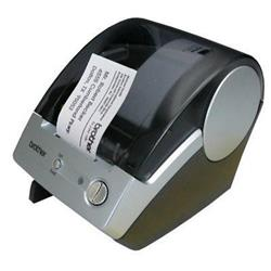 Brother P-Touch QL-500BS Thermal Label Printer (Black/Silver)