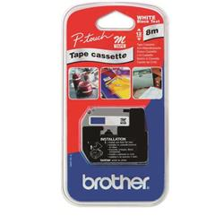 Brother P-Touch M-K521BZ (9mm x 8m) Black on Blue Laminated Labelling Tape