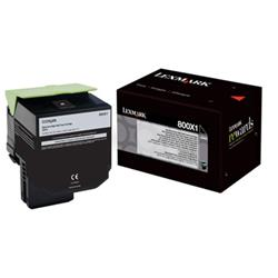 Lexmark 800X1 Extra High Yield (8000 Pages) Toner Cartridge (Black)