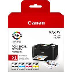 Canon PGI-1500XL (Colour - BK/C/M/Y) Ink Cartridge