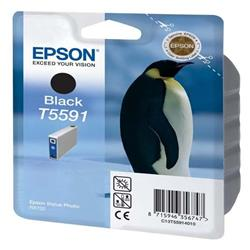 Epson T559 Black Ink Cartridge for Stylus Photo RX700  Printer