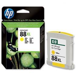 Hewlett Packard HP No. 88 XL Yellow Inkjet Print Cartridge 17ml Ref C9393AE
