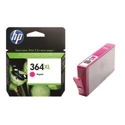 Hewlett Packard (HP) No. 364XL Inkjet Cartridge Page Life 750pp Magenta Ref CB324EE #ABB