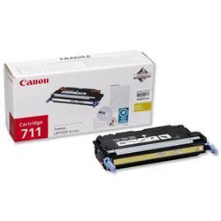 Canon 711 Yellow Laser Toner Cartridge for i-SENSYS LBP5360 Ref 1657B002