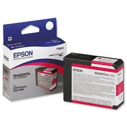 Epson T5803 Inkjet Cartridge Capacity 80ml Magenta Ref C13T580300