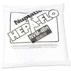 Numatic Replacement Vacuum Bags for 900 & 750 Ref 604019 - Pack 10