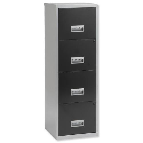 Buy Pierre Henry Filing Cabinet Steel Lockable 4 Drawers