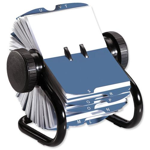 Rolodex classic 200 rotary business card index file with 200 sleeves description reheart Image collections