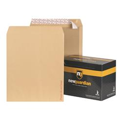 New Guardian Envelopes Heavyweight Board Backed Peel and Seal Manilla 444x368mm - Pack 50