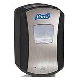 Purell LTX-7 Touch Free Hand Wash Dispenser 700ml Chrome and Black Ref X01163