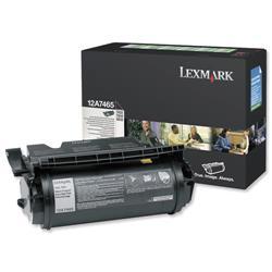 Lexmark T632/T634 32k High Yield Black  Return Program Laser Toner Cartridge Ref 12A7465