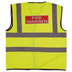 IVG Fire Warden Vest Medium Ref IVGSFWVM