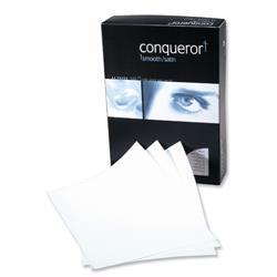 Conqueror Prestige Paper Wove Finish 500 Sheets per Box 100gsm A4 High White Ref 88547 - 1 Box