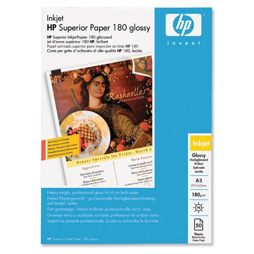 Hp A3 180gsm Glossy Superior Professional Brochure Flyer