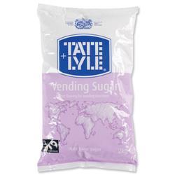 Tate and Lyle Vending Sugar Bulk Vending Bag for Dispensing Machine 2kg Ref A00696
