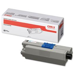 Oki 44469803 Black Toner Cartridge for C310dn/C330 Series/C510dn/C530 Series Ref 44469803