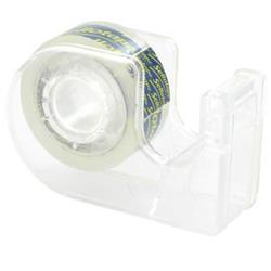 Sellotape Super Clear Parcel Tape 48mmx20m and Dispenser Ref 1766000 [6 Rolls]