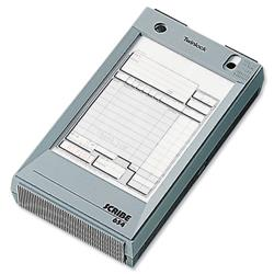 Twinlock Scribe 654 Counter Sales Receipt Business Form 2-Part 165x102mm Ref 71295 - Pack 100