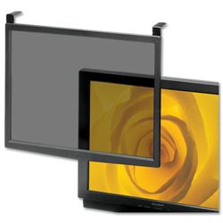 Screen Filter Glass Anti-glare-radiation-static CRT and LCD 16-17in Black Frame Ref CCS20552