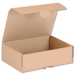 Mailing Carton Easy Assemble Small 250x175x80mm Brown [Pack 20]