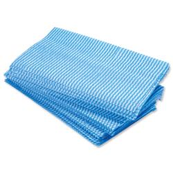 5 Star Facilities Large All Purpose cloths 610x360mm Blue [Pack 50]
