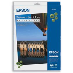 Epson A4 Premium Semigloss Photo Paper  Ref C13S041332 - 20 Sheets
