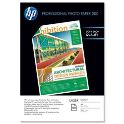 Hewlett Packard HP Professional Glossy Laser Paper A4 Ref CG966A - 100 Sheets