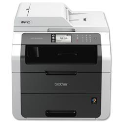 Brother Colour Laser Multifunctional Printer Duplex Network A4 Ref MFC9140CDN