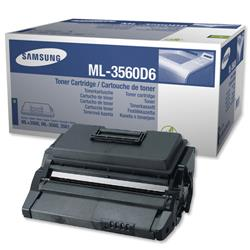 Samsung ML-3560D6 Black Laser Toner Cartridge for ML-3560/ML-3561 Ref ML3560D6/ELS