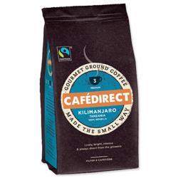 Cafe Direct Kilimanjaro Ground Coffee Fairtrade 227g Ref A07611
