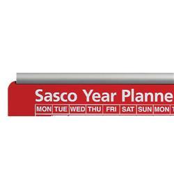 Sasco Aluminium Chart/Planner Track Two Rails Ref 20360