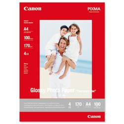 Canon GP-501 A4 Glossy Photo Paper Ref 0775B001 - 100 Sheets