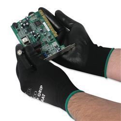 Polyco Matrix P Grip Gloves Size 8 Black Ref 402-MAT - Pack 12