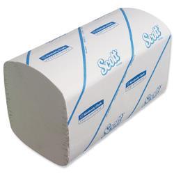 Scott Performance Hand Towels 210x215mm 274 Towels per Sleeve Ref 6689 (Pack 15 Sleeves)