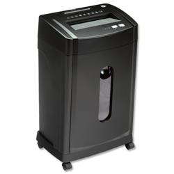 5 Star Office MCC12 Shredder Micro Cut P-5 Security 28 Litre Capacity