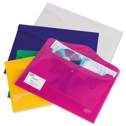Elba Bright Identity Wallets A4 Assorted Colours Ref 205831 Pack 5