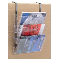 Brochure Files Landscape 3 Pockets A4 Clear - Pack 3