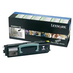 Lexmark X342 6k Black Return Program Laser Toner Cartridge for X342n MFP Ref 0X340H11G