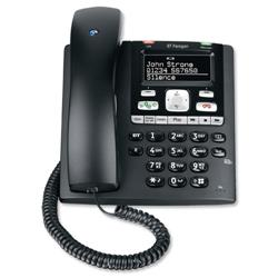BT Paragon 650 Corded Telephone Answer Machine 200 Memories SMS Caller Inverse Display Ref 32116