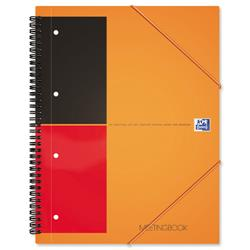 Oxford International Meeting Book 2 Wire 2 Margin Ruled 160pp A4+ Ref 100104296 - Pack 5
