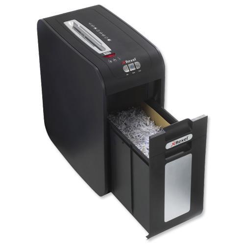 Rexel mercury rsx1632 shredder confetti cut p 3 security for Best home office shredder uk