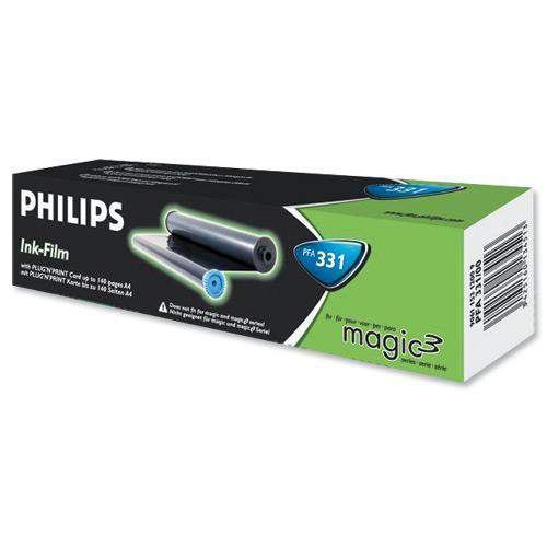 buy philips pfa331 black ink film ribbon for ppf531 575. Black Bedroom Furniture Sets. Home Design Ideas