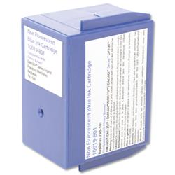 Totalpost Franking Inkjet Cartridge Blue [Pitney Bowes DM100i Series Equivalent] Ref 10019-801