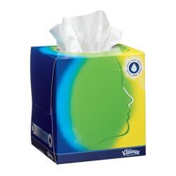 Kleenex Facial Tissue Cube White Ref 8825 - Pack 12