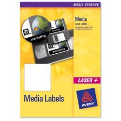 Avery J8657 35mm Slide Label 46x11.11mm Ref J8657-25 - Pack 1050