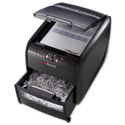 Rexel AutoPlus 60X Shredder Confetti Cut P-3 Security Level Ref 2103060