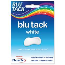 Bostik Blu-tack Mastic Adhesive Non-toxic White 60g Ref 801127 - Pack 12