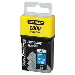 Stanley Light Duty Staples 8mm Ref 0-TRA205T (Pack 1000)