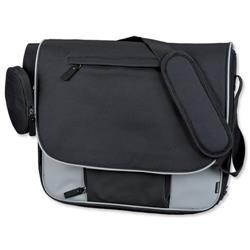Lightpak Tron Messenger Bag Grey Ref 46113